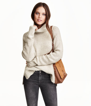 H&M Knitted turtleneck jumper Cheap Good Selling Buy Cheap Great Deals Where To Buy Low Price Outlet Store Cheap Price Outlet Prices JA7Ew
