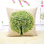 home accessory,print,stylish,soft,pillow,home decor,green,boho,hipster,cute,valentines day gift idea,mothers day gift idea,holiday season