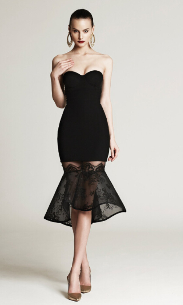 Dress black dress short black dress little black dress for Little black wedding dress