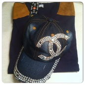 hat,hats sunglasses,snapback,chanel inspired,cap,baseball hat