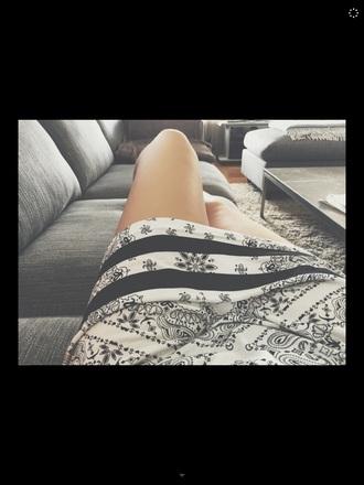 dress t shirt dress love black and white dress cotton bikbok
