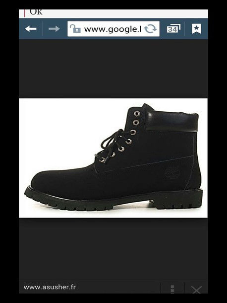 shoes black youth timberland