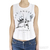 Los Angeles LA Fingers Sadie Love Child Crop Tank / TheFashionMRKT