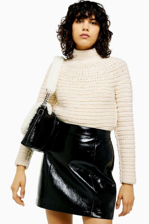 Ivory Hand Knitted Chunky Jumper - Ivory