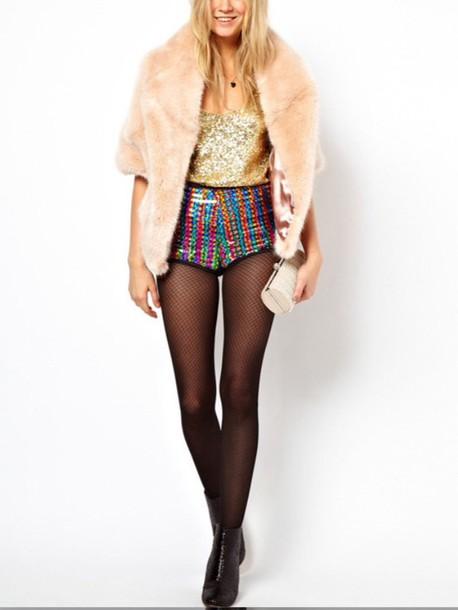 coat fur jacket holypink