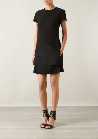 dress victoria beckham black dress