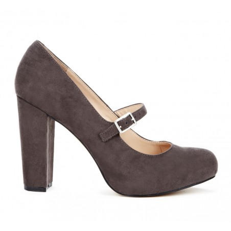 Sole Society - Closed Toe Heels - Whitney - Charcoal