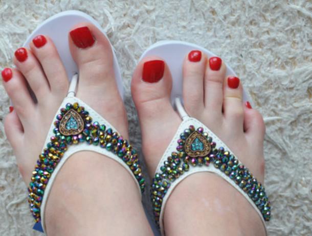 bridal flip flops wedges for weddings bridesmaids white flip flops