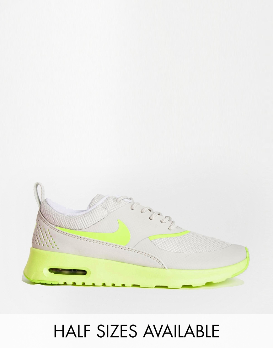 Nike Grey Air Max Thea Trainers at asos.com