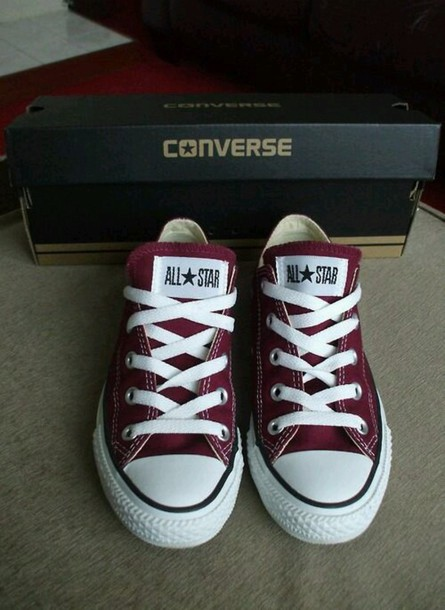 shoes burgundy