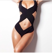 swimwear,black,cut-out swimwear,one piece swimsuit,black swimwear,one piece,summer,spring break,sexy swimsuit,style,fashion,dope swimwear,cut-out,swim wear bathing suit,sexy black swimwear,sexy
