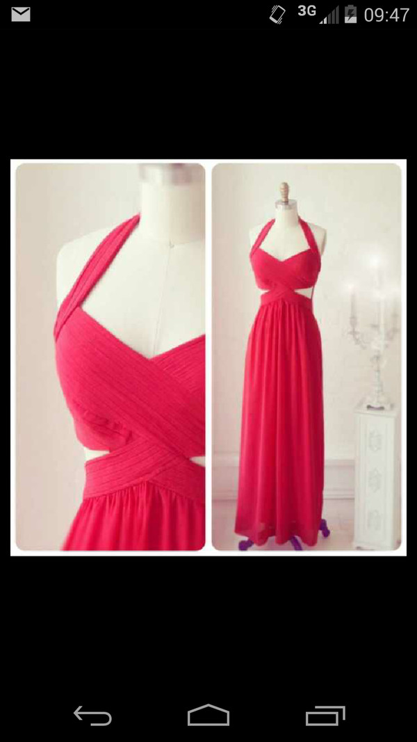 red dress prom dress red maxi dress vneck dress