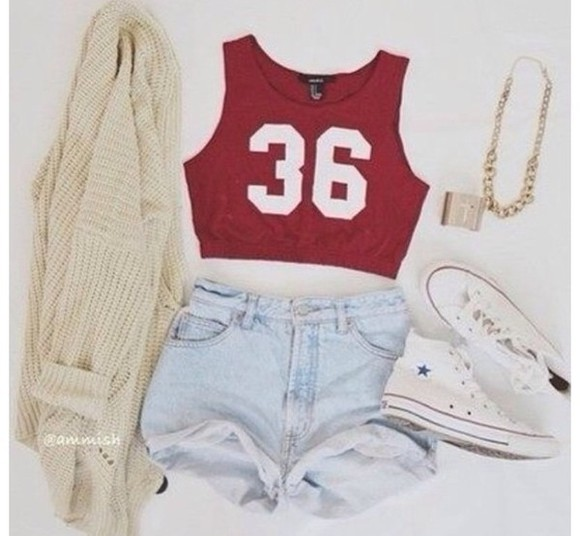 t-shirt jacket tank top crop tops shirt jewels shorts