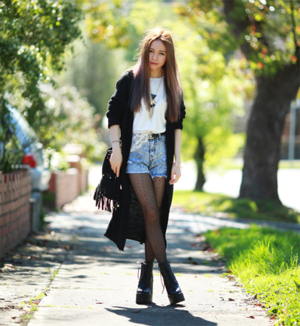 chloe ting blogger cardigan top jewels bag anarchy street