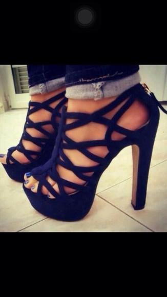 blue shoes high heels blue heels heels blue sandals heeled sandal