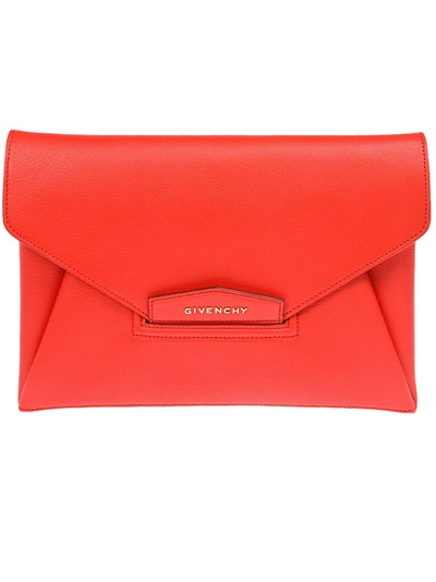 Givenchy 'antigona' Envelope Clutch -  - Farfetch.com