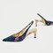 Printed slingback kitten heels - high-heels-shoes-woman | zara macedonia