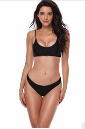 swimwear,girly,girl,girly wishlist,black,bikini top,bikini,bikini bottoms,two-piece,swimwear two piece
