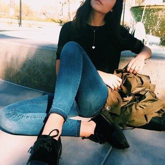 shoes black flats
