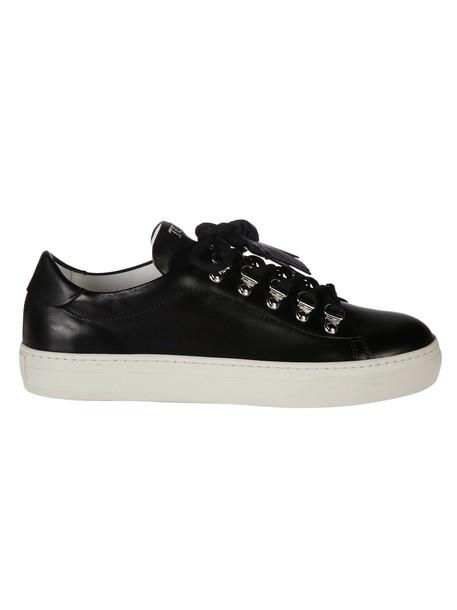 Tods tassel sneakers black shoes