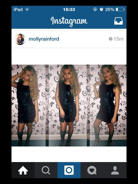dress black dress molly rainford black
