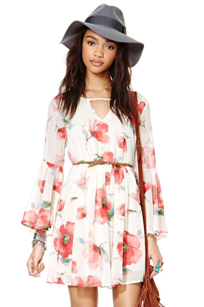 Go With The Floral Dress | Shop Dresses at Nasty Gal