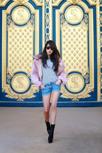 chic muse shoes jacket t-shirt