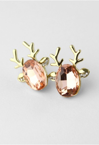 Deer Beads Earrings - Retro, Indie and Unique Fashion