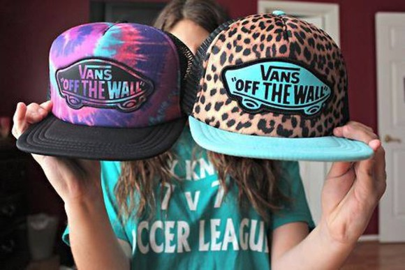 hat vans off the wall leopard print diy galaxy hat justin bieber cap blue pink purple lepord hipster jewels snapback shoes tiger skate skateboarding cool red hot sexy boys cute music