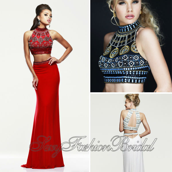 Aliexpress.com : buy o neck crop top with beading mermaid natural waist floor length chiffon two pieces evening dress gown dresses vestidos de fiesta from reliable dress shipping suppliers on sexyfashionbridal