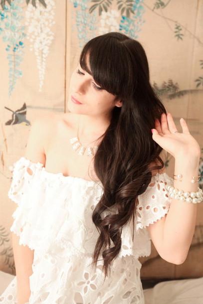 the cherry blossom girl blogger dress jewels