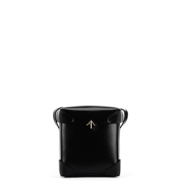 manu atelier mini bag shoulder bag black