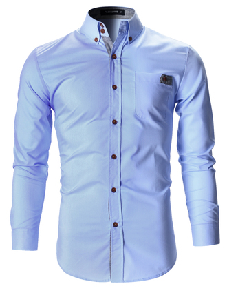 shirt menswear blue shirt fashion