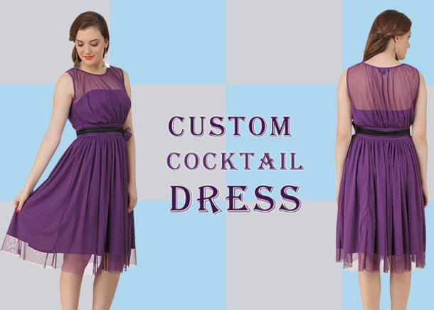 Blue Cocktail Dresses Canada