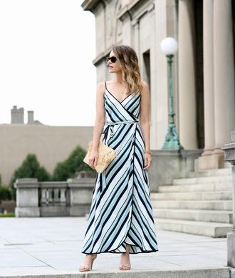 pennypincherfashion blogger dress shoes bag jewels maxi dress clutch sandals high heel sandals summer outfits