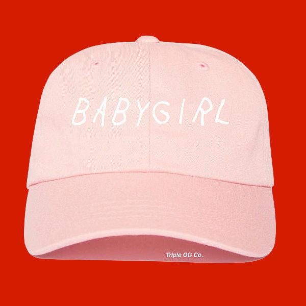 baby girl baseball hat cap style drake tumblr