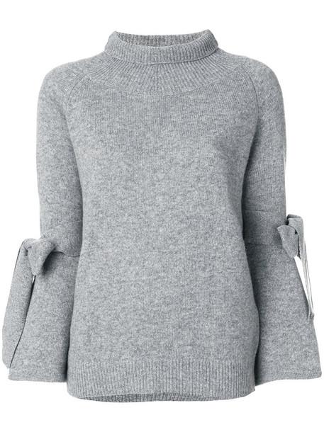 Ermanno Scervino sweater women wool grey