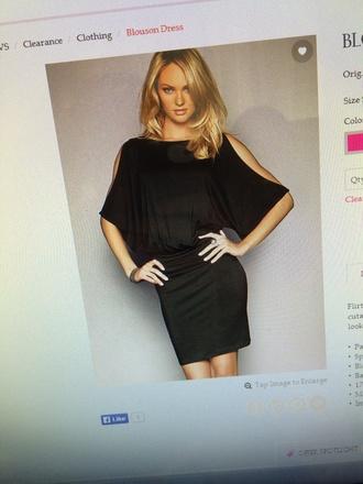 candice swanepoel victoria's secret model black dress blouson dress shoulder dress pencil skirt