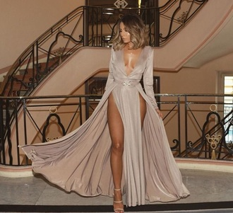 dress nude long dress nude dress