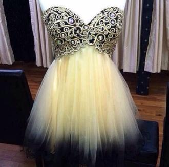 dress prom dress yellow dress purple dress intricate