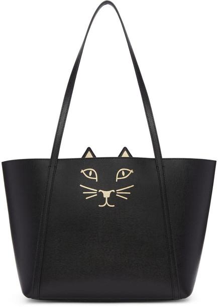 charlotte olympia mini black bag