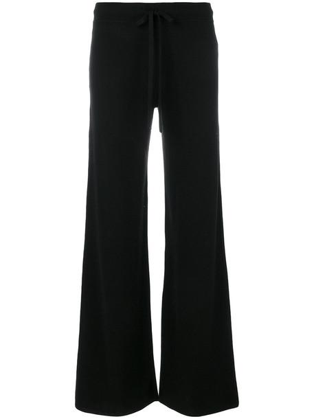 PRINGLE OF SCOTLAND women black pants