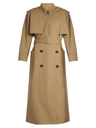 coat trench coat water beige