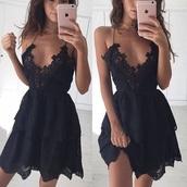 dress,black dress,chic,class,fashion,party
