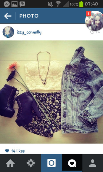 jacket shoes denim jacket jewels