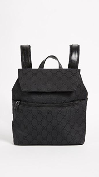 backpack canvas backpack black bag