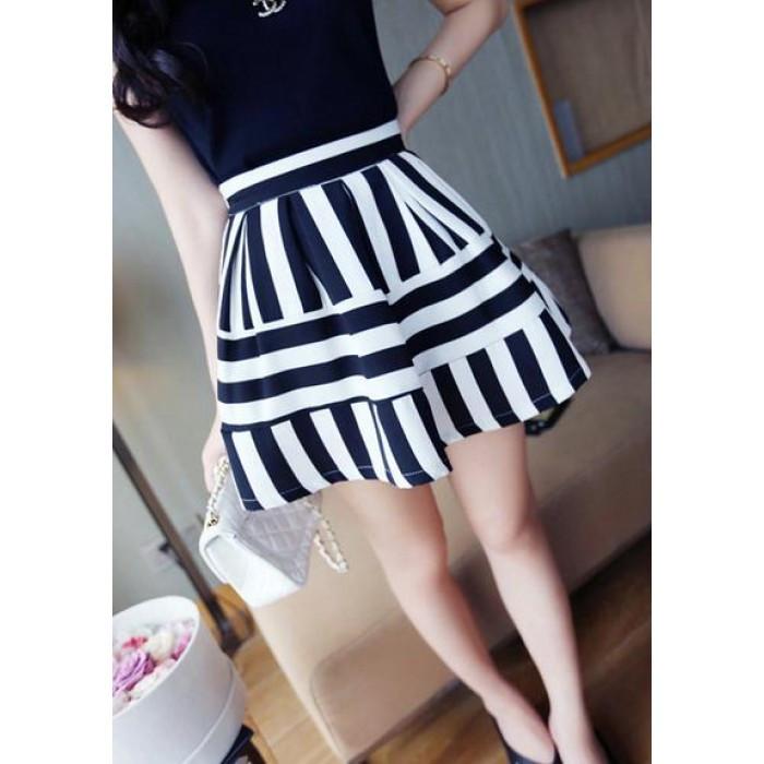White Skirt Strip 95