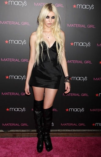 dress black dress taylor momsen