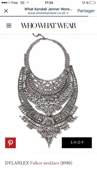 jewels coachella fashion vibe silver jewelry necklace silver jewelry silver necklace coachella 2016 statement necklace statement bling