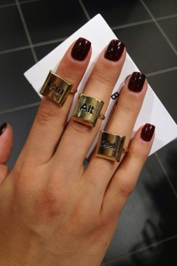 jewels ring gold ring keyboard ctrl delete atl cntrl alt delete alt del